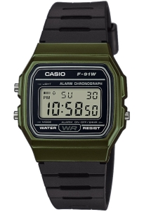 Часы CASIO F-91WM-3A